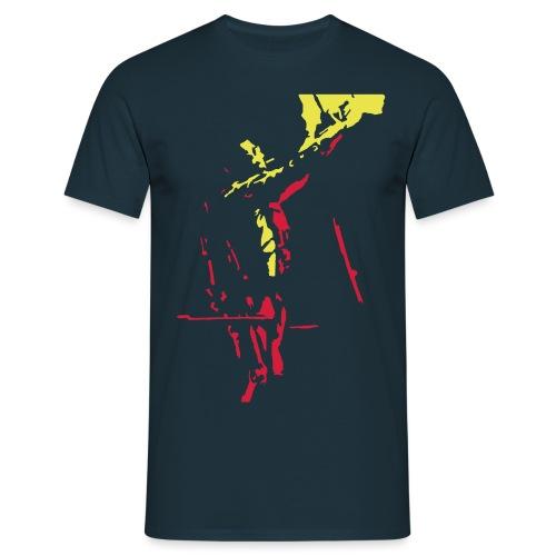 FracturedSpace Goss Print - Men's T-Shirt