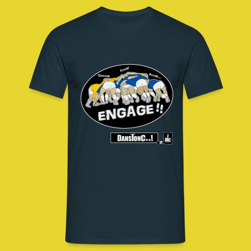 ENGAGE png - T-shirt Homme