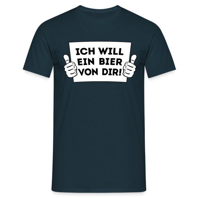 Ich will ein Bier von Dir - Daumen hoch! 2C