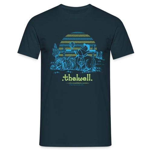 Thelwell Cartoon Pony Sieg - Männer T-Shirt