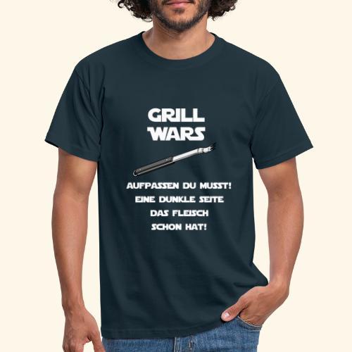 GrillWars - Eine dunkle Seite das Fleisch schon ha - Männer T-Shirt