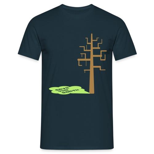 savetheearth - Herre-T-shirt