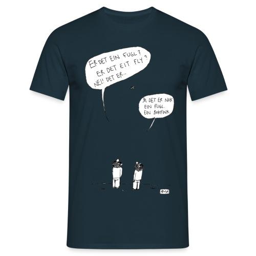 06 bokfink - T-skjorte for menn
