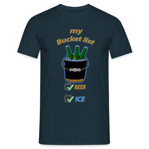 My bucket list - T-shirt Homme