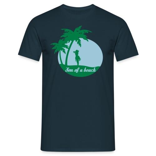 20110519 ytb shirt son blaugruen pfade - Männer T-Shirt