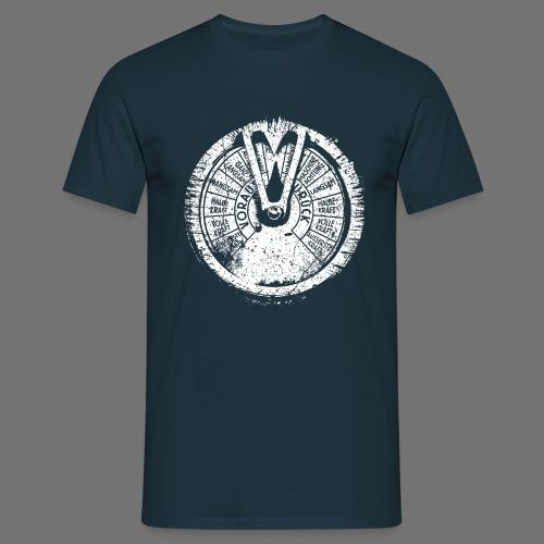 Maschinentelegraph (à l'ancienne blanc) - T-shirt Homme
