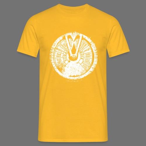 Maschinentelegraph (white oldstyle) - Men's T-Shirt