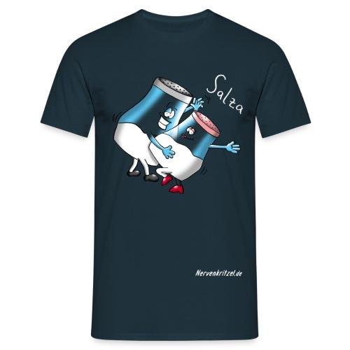 salza weiss - Männer T-Shirt