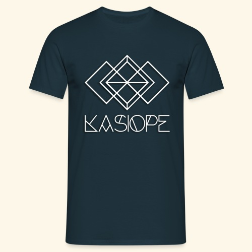 Logo Kasiope blanc - T-shirt Homme