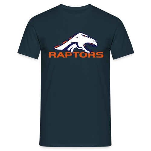 raptors cmyk - Mannen T-shirt