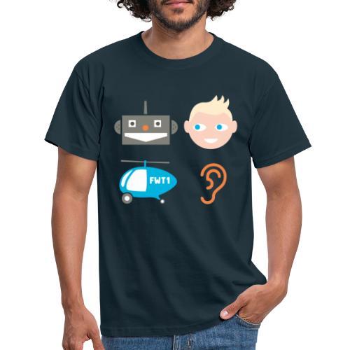 Robbi, Tobbi, Fliewatüüt - Männer T-Shirt