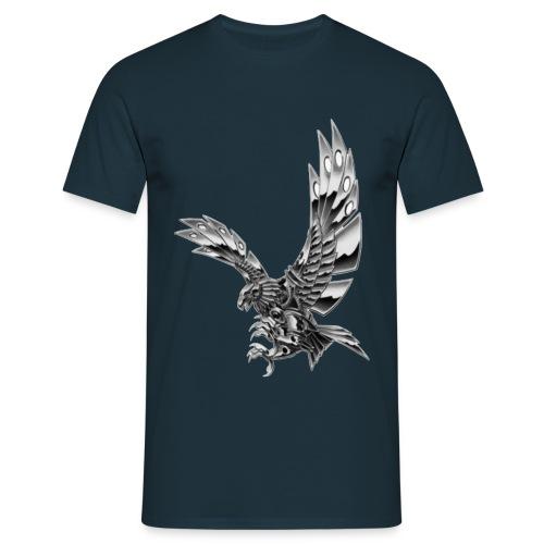 Metallic Eagle - Maglietta da uomo