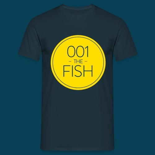 001thefish - logo - Men's T-Shirt