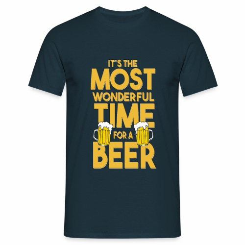 Time for a Beer - Männer T-Shirt