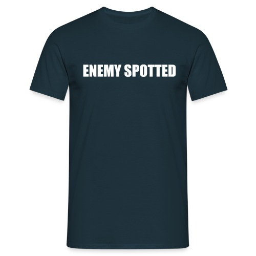Enemy Spotted - Men's T-Shirt