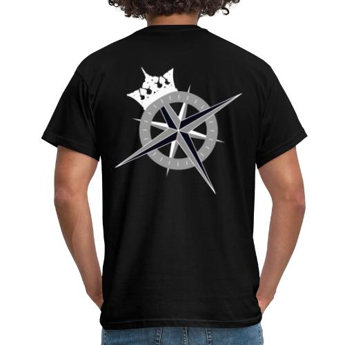 Cross on the back and Kings Fleet logo on front - Men's T-Shirt