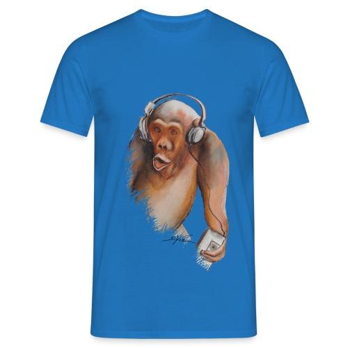 Singe old fashion - T-shirt Homme