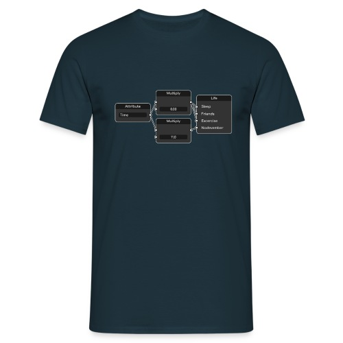 Node Life - Men's T-Shirt