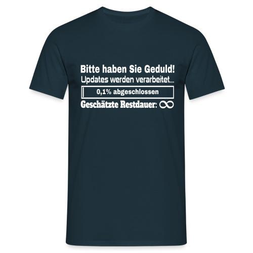 Update Ladebalken - Männer T-Shirt