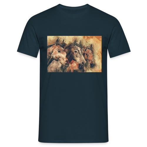 horses - T-shirt Homme