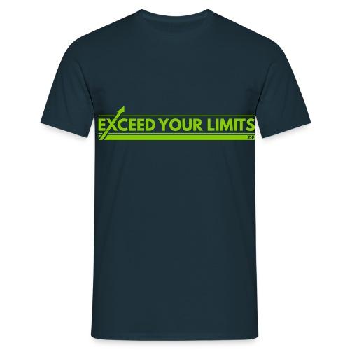 exceedyourlimits chest - Männer T-Shirt