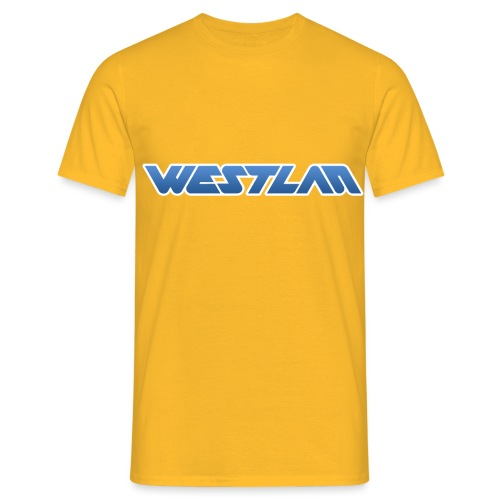 WestLAN Logo - Men's T-Shirt