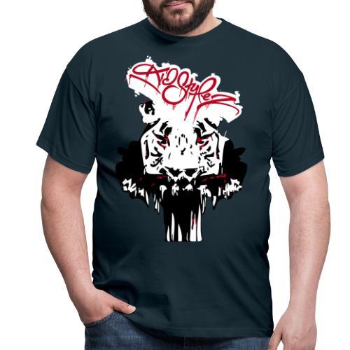 Tiger Samtig Weich - Männer T-Shirt
