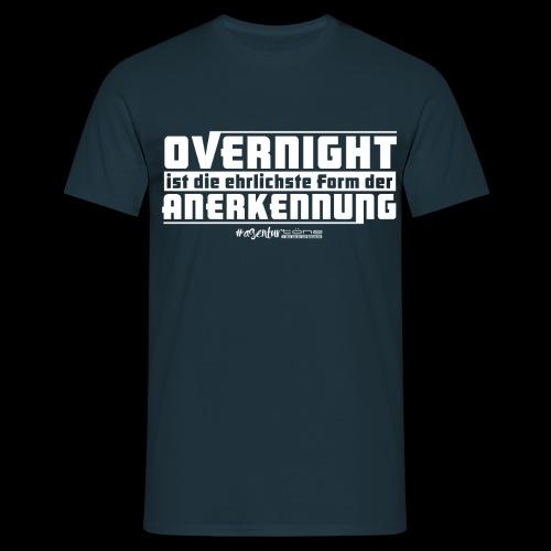 Overnight - Männer T-Shirt