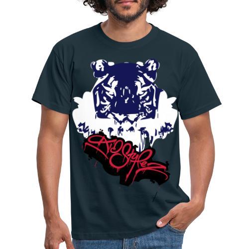 Tiger Style - Männer T-Shirt