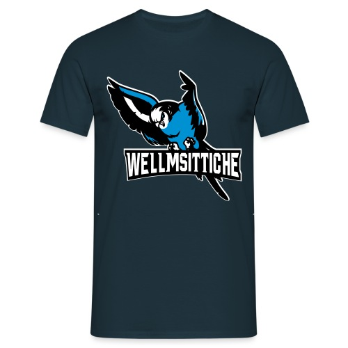 Wellmsittich - Männer T-Shirt