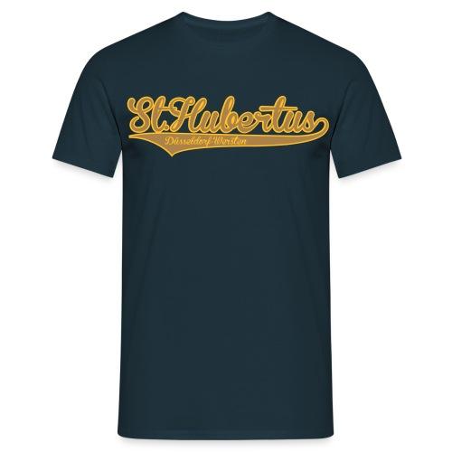 Hubertus Schriftzug 2017 - Männer T-Shirt