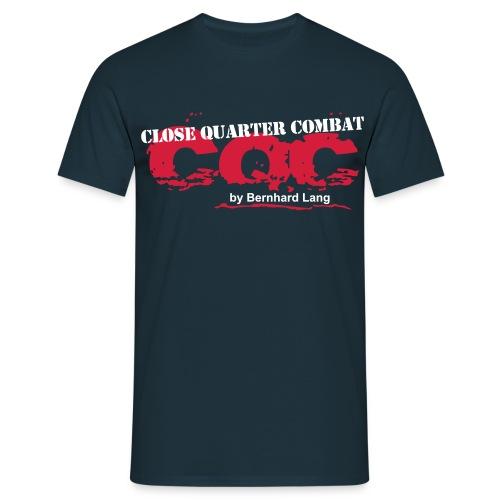 logo cqc transparent zugeschnitten - Männer T-Shirt