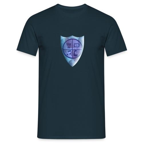 Emblem of the knight - Men's T-Shirt