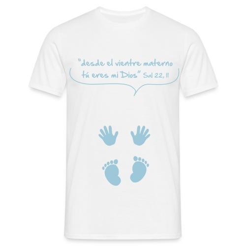 bebe spread - Camiseta hombre