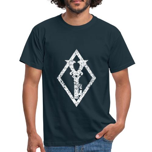 White Diamond Key - T-skjorte for menn