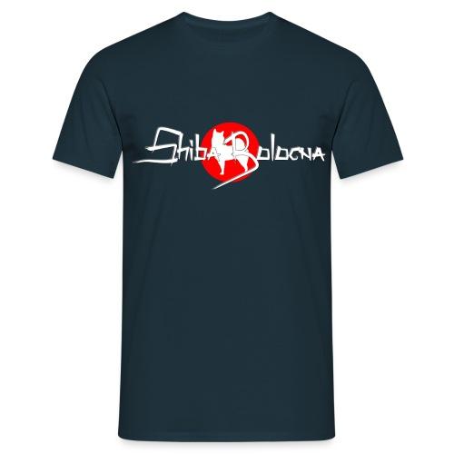 Shiba Bologna logo 2 png - Maglietta da uomo