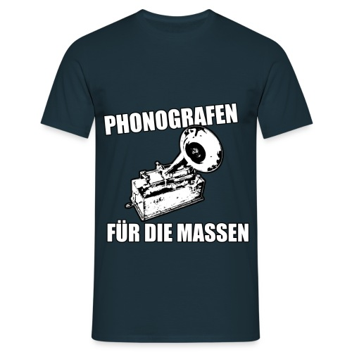 Phonografen Massen - Männer T-Shirt