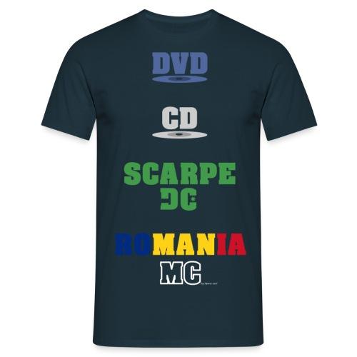dvd cd scarpe dc - Maglietta da uomo