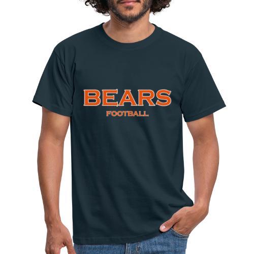 Bears Football - Männer T-Shirt