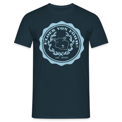 Logo Floer Oliven - Männer T-Shirt