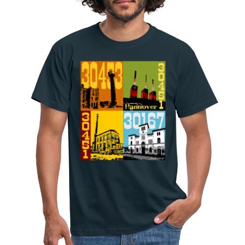 Stadtansichten Hannover Set 02 - Männer T-Shirt
