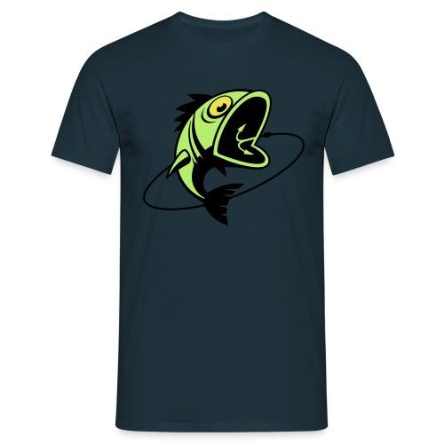 VL107B_BigFish_3c - Männer T-Shirt