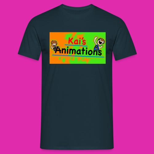 kai's animations logo - Men's T-Shirt