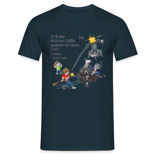 Unfall-Taucher Baseball - Männer T-Shirt