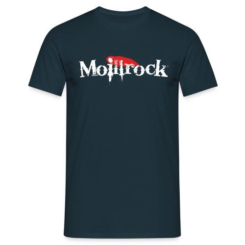 moillrockstortransparent - T-skjorte for menn