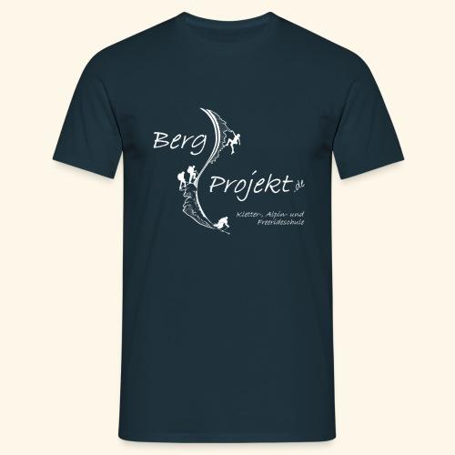 BP transp Schrift - Männer T-Shirt