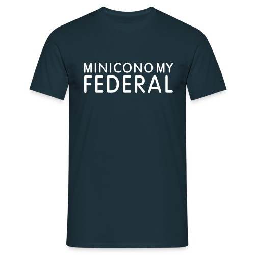 Miniconomy Federal - Men's T-Shirt
