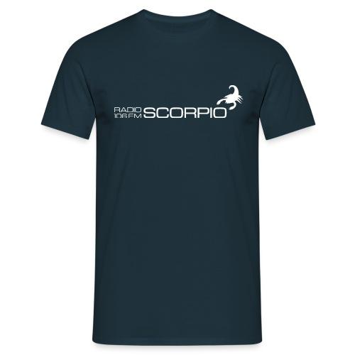 scorpio logo wit - Mannen T-shirt