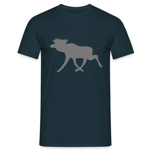 Schwedenelch; schwedisches Elch-Symbol (vektor) - Männer T-Shirt