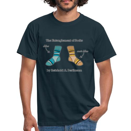 The Entanglement of Socks - Men's T-Shirt